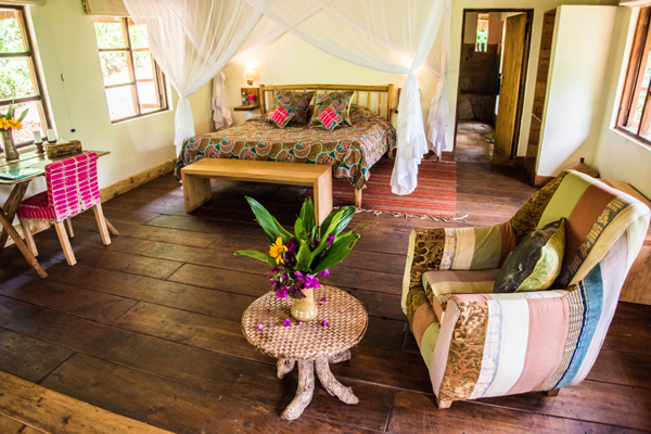 Bwindi Lodge Interior Bedroom Design