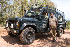 Volcanoes Safaris Vehicle