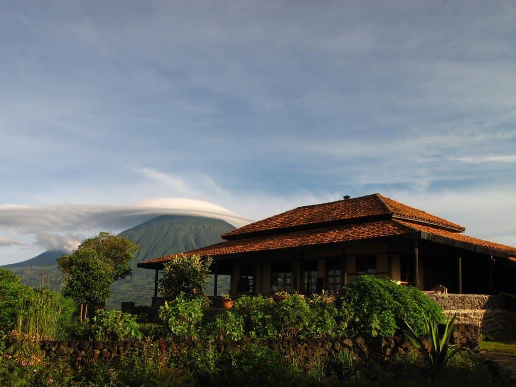 Exterior Virunga Lodge Rwanda CR Hotel
