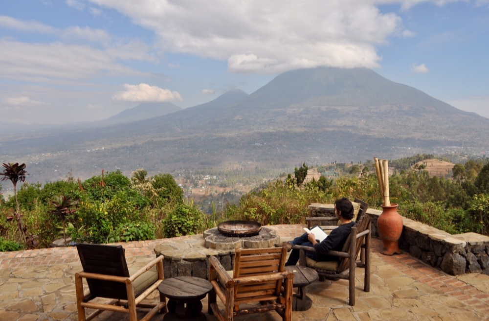 Virunga Lodge Mountain View