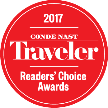 Conde Nast Traveler 2017 Readers Choice