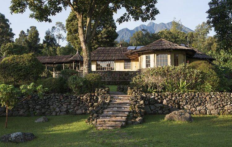 Bwindi Lodge Exterior