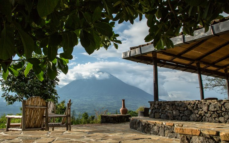 Virunga Main Lodge Terrace