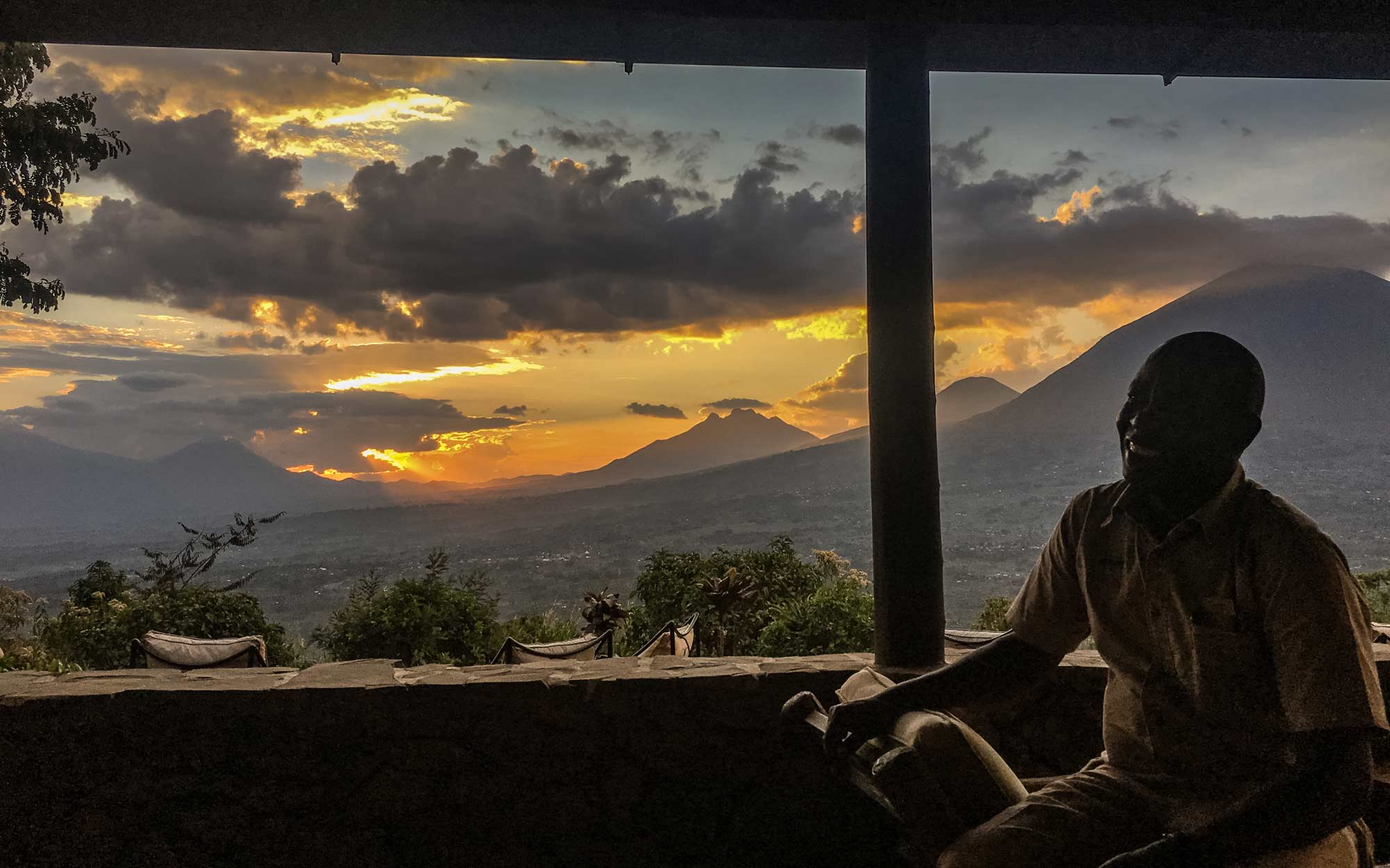 Volcanoes Safaris Evening View