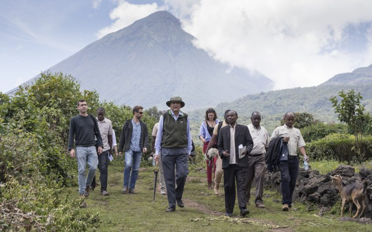 Volcanoes Safaris Inspection Team