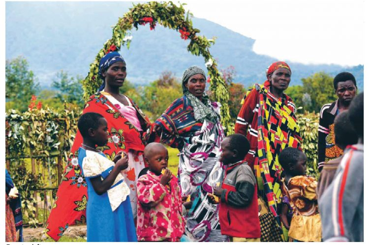 Volcanoes Safaris Feature Villagers
