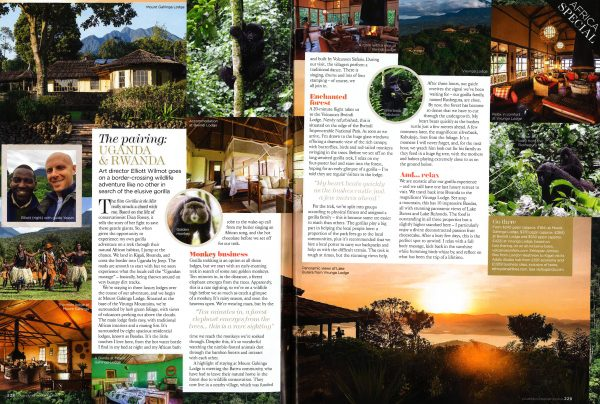 Volcanoes Safaris The Pairing Uganda and Rwanda