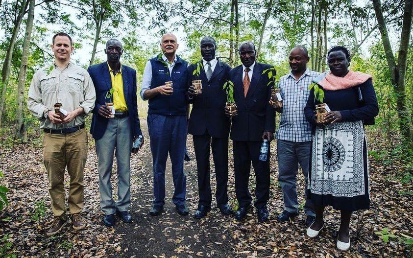 Kyambura Tree Planting