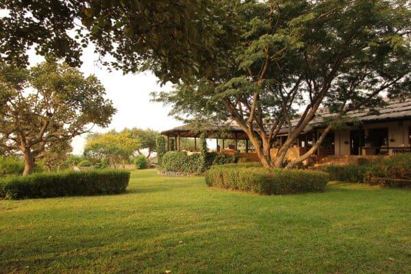 Kyambura Gorge Lodge main building
